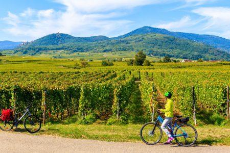 Balade à vélo en Ardèche