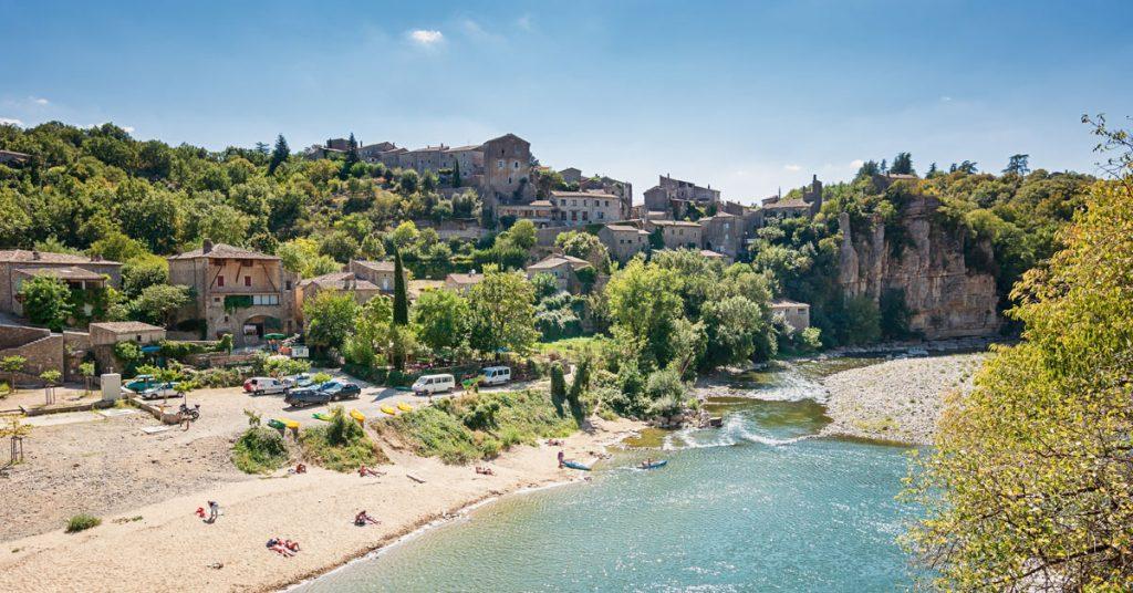Rivière de l'Ardèche- Balazuc